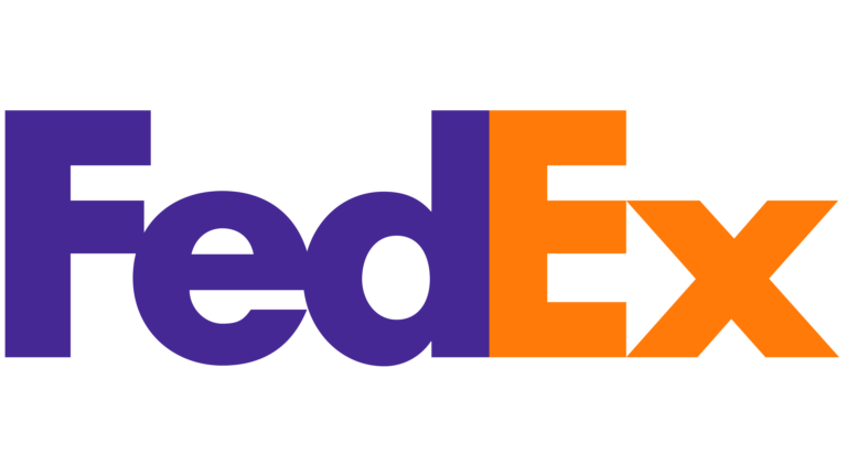 fedex logo napis